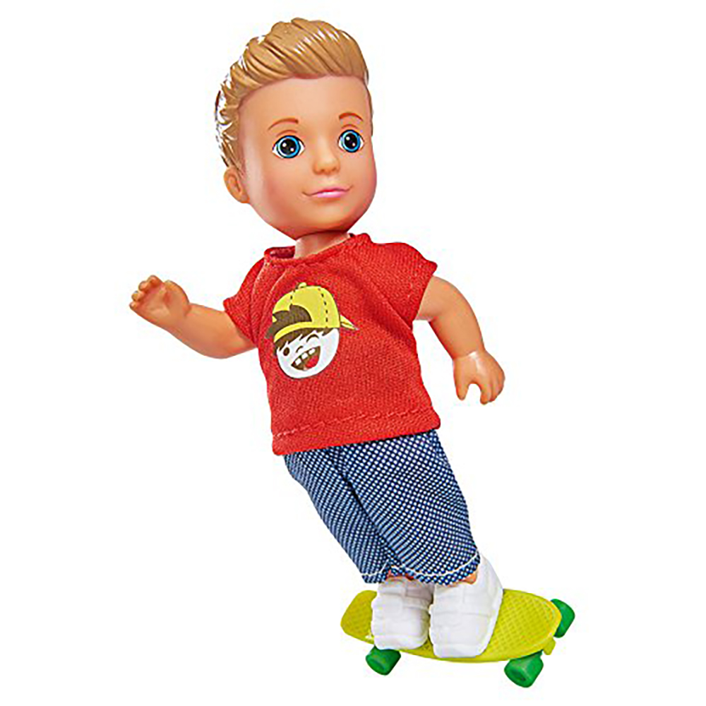 Кукла Тимми - скейтбордист, 12см.