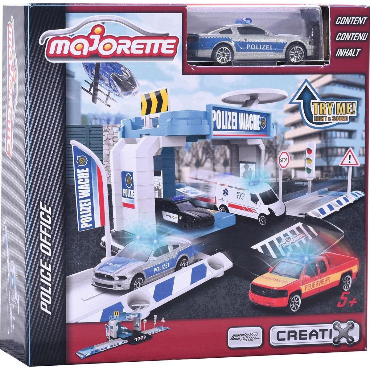 Набор Парковка базовая Creatix Полиция + 1 машинка