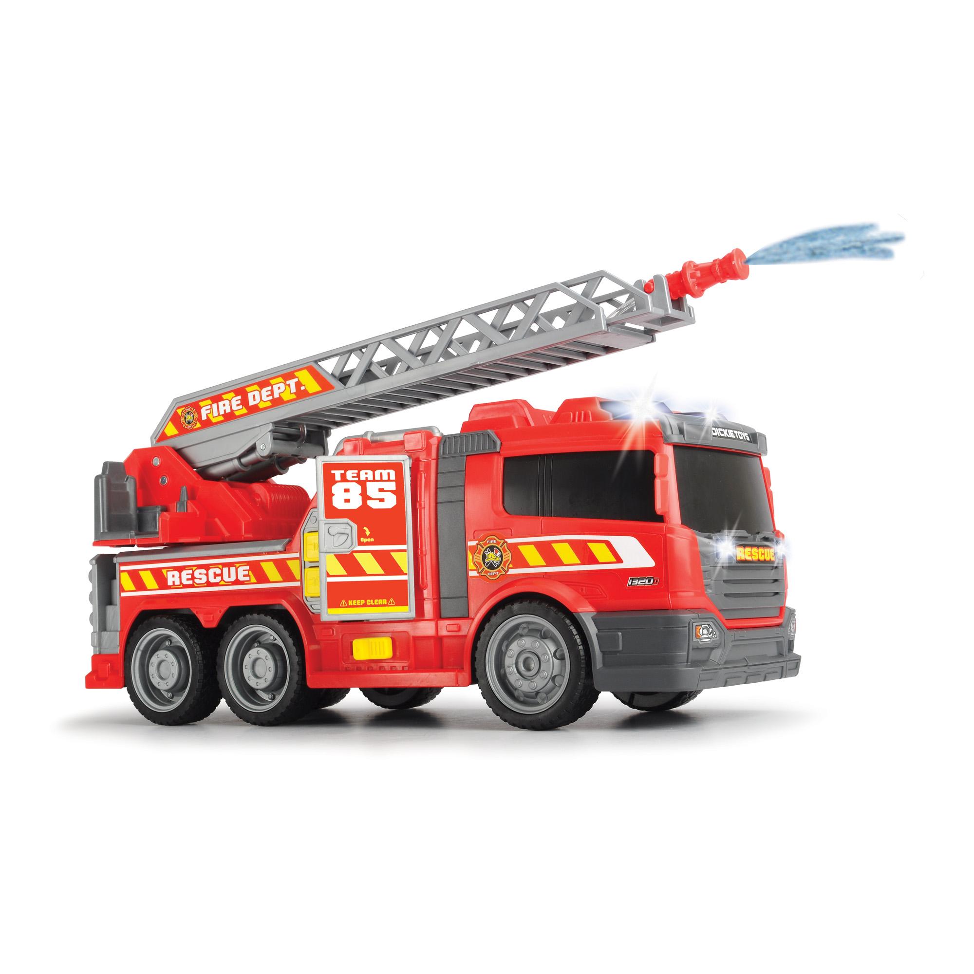 Машина Пожарная 36см, с водой, свет, звук