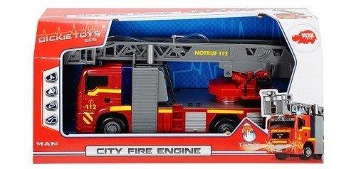 Машина Пожарная фрикц.., 29 см, свет, звук , вода