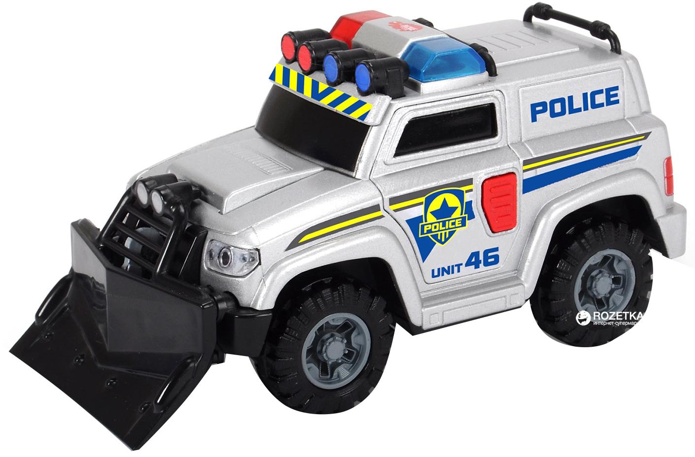 Машина Полицейская со светом и звуком, 15см