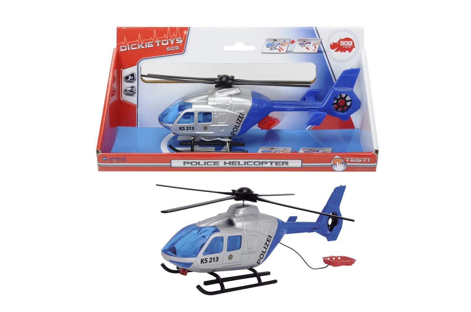 Вертолет Полицейский 24см