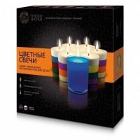 Набор для опытов Трюки Науки Цветные свечи