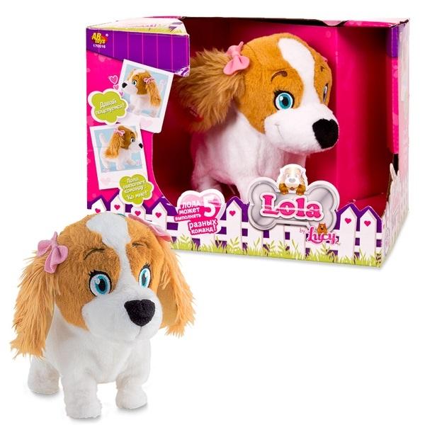 Интерактивная Собака Lola (младшая сестра Lucy), эл/мех, выполняет 5 ко