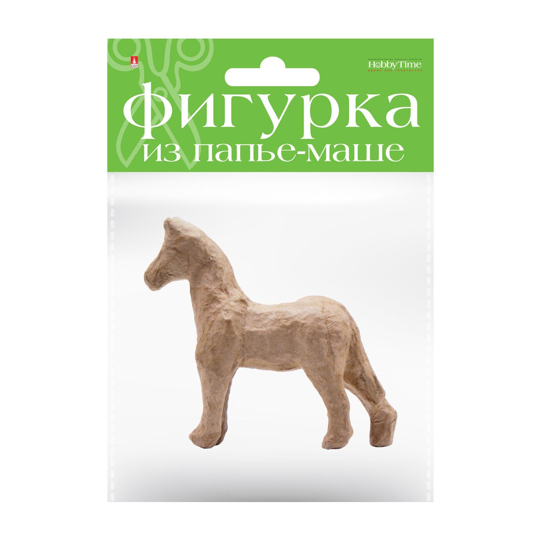Творч Заготовка папье-маше Лошадь 3,7x12,5x11 см