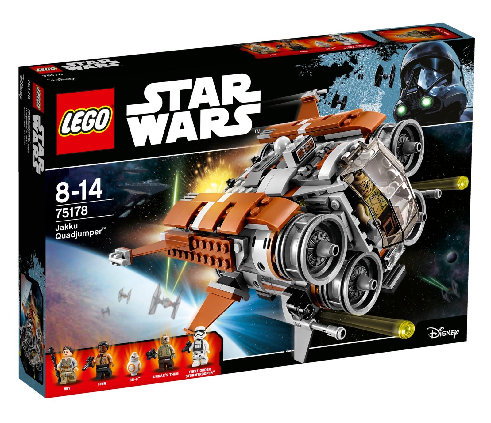 Конструктор Lego Star Wars TM Квадджампер джакку