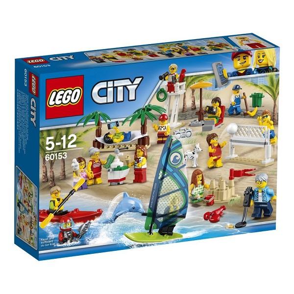 Конструктор Lego City Город Отдых на пляже - жители Lego city