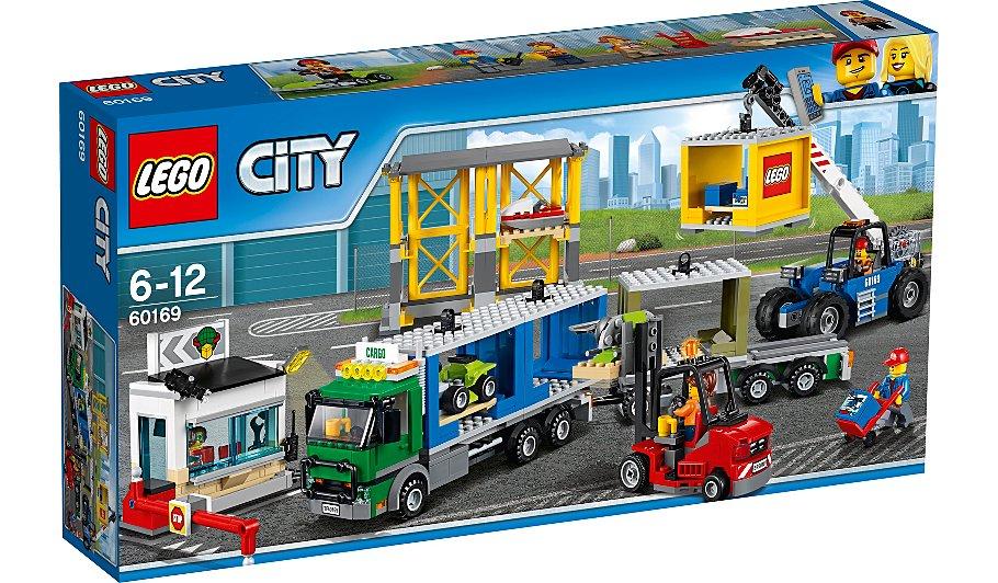 Конструктор Lego City Город Грузовой терминал