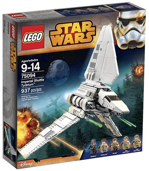 Конструктор Lego Star Wars Имперский шаттл Тайдириум