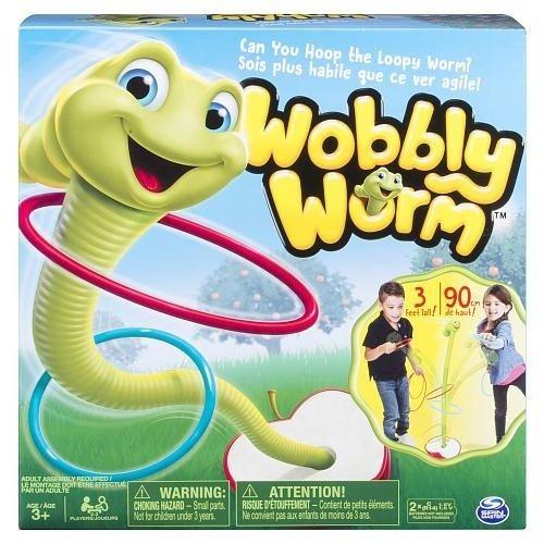 Танцующий червячок Wobbly Worm 90см.