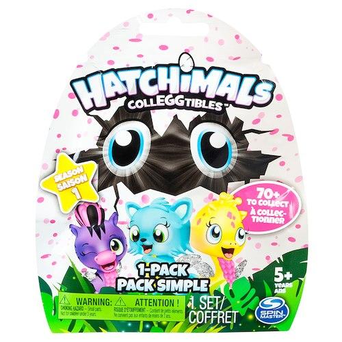 Интерактивная Коллекционная фигурка Hatchimals 1шт, в пакете