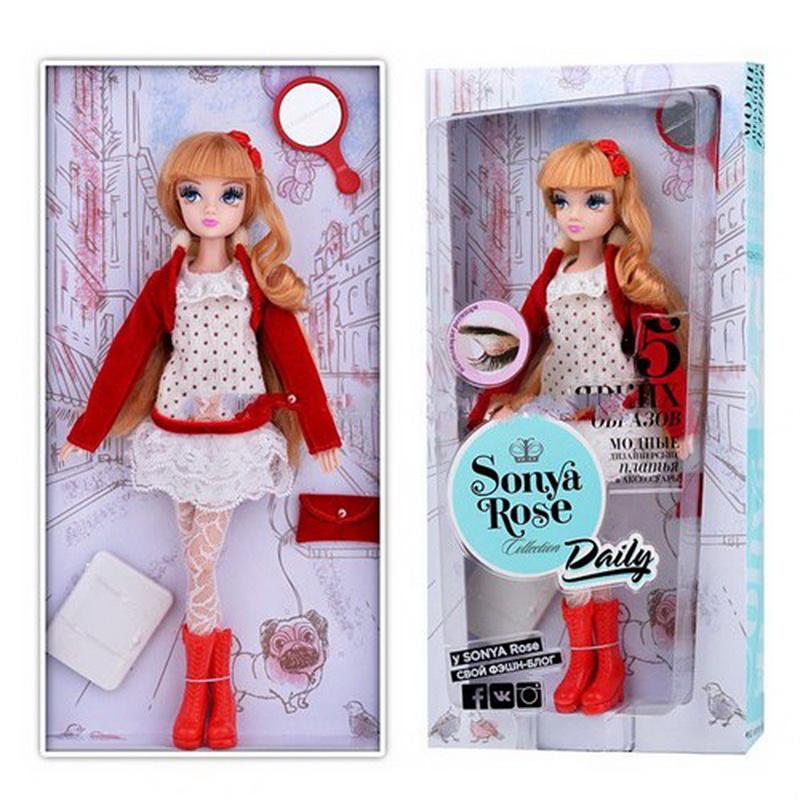 Кукла Sony Rose в красном болеро