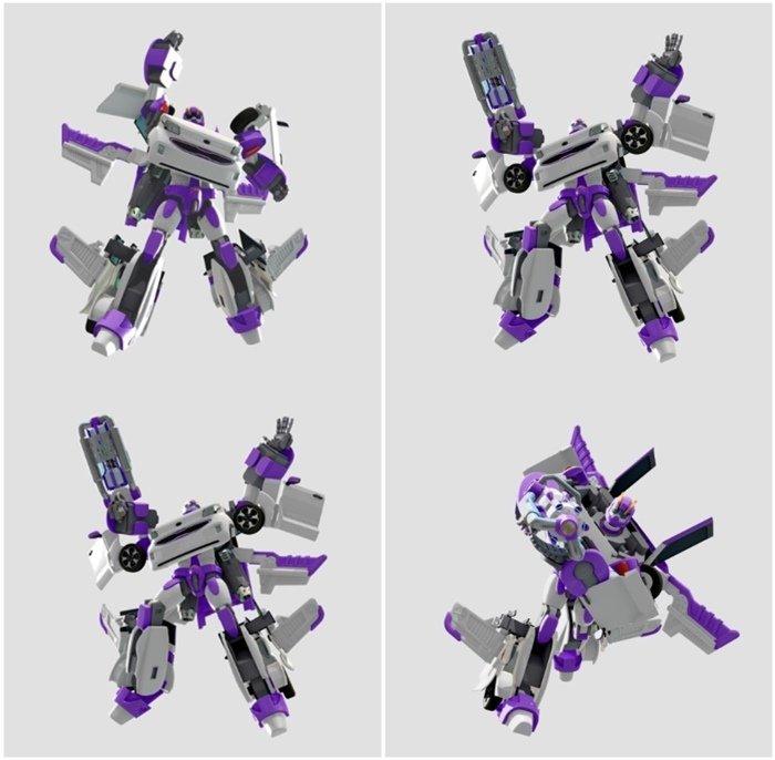 АКЦИЯ-20 Игр Робот-трансформер Тобот Эволюция W