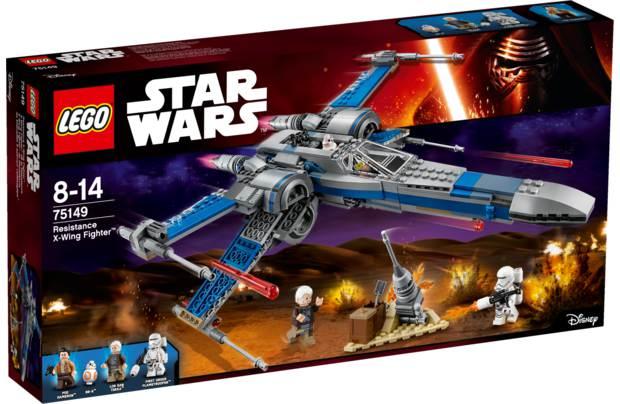 Конструктор Lego Star Wars Истребитель сопротивления типа икс