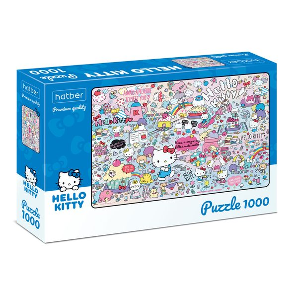 Пазл 1000 Hello Kitty