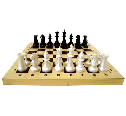 Настольная Шахматы Гроссмейстерские фигуры пласт