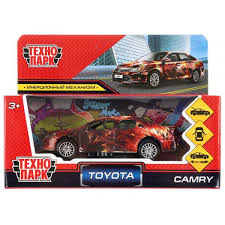 Машина Toyota camry графити 12см, металл инерц.