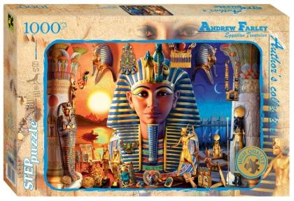 Пазл 1000 Step Египетские сокровища. Эндрю Фардей