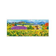 Творч Холст для рисования по номерам 20х50 Солнечные поля