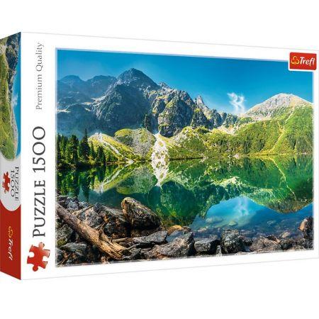 Пазл 1500 Trefl 26166 Озеро Эшинен, Альпы, Швейцария