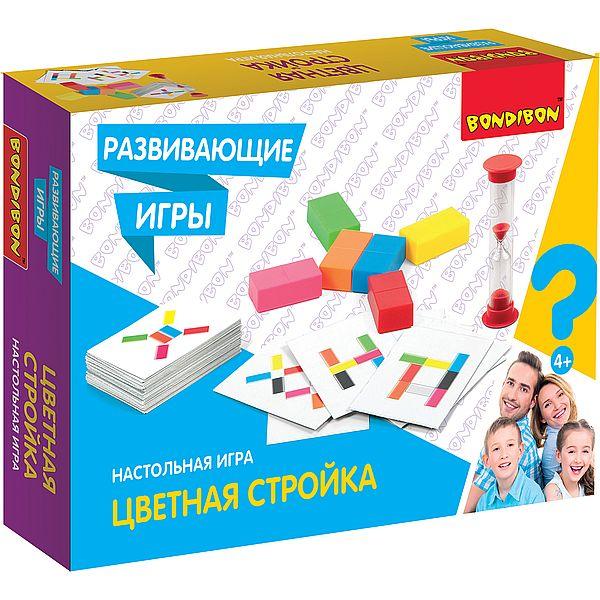 Игра Логическая Цветная стройка