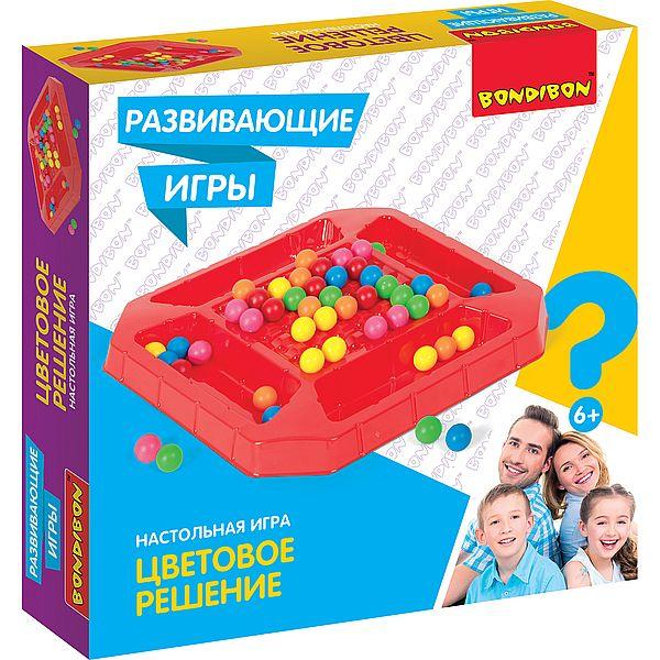 Игра Настольная Цветовое решение