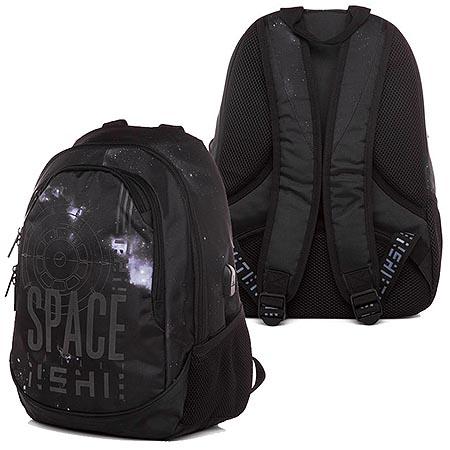 Рюкзак эргономич. Hatber Space черный