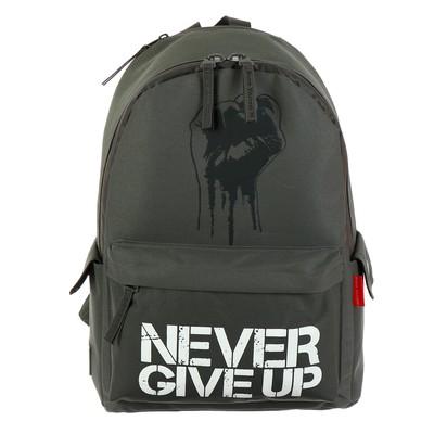 Рюкзак молодежный BV Не унывай! темно-серый