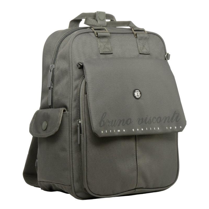 Рюкзак молодежный BV темно-серый с ручками