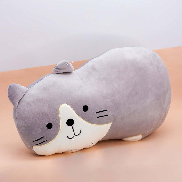 Мягконабивная Cat Ralf gray 50см