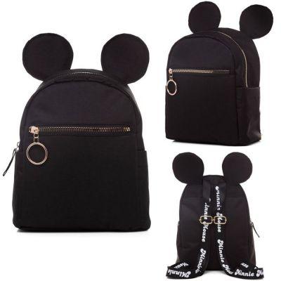 Рюкзак детский Hatber MINI Минни Маус черный