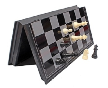 Настольная Шахматы магнитные пласт (поле 25 см)