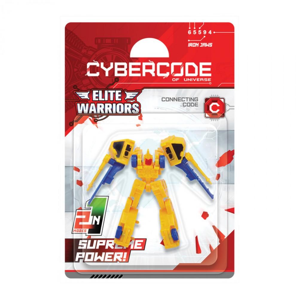 Робот Cybercode Iron Jaws (асс.)
