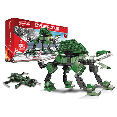 АКЦИЯ-20 Игр Конструктор Cybercode Megalosaurus 107эл.