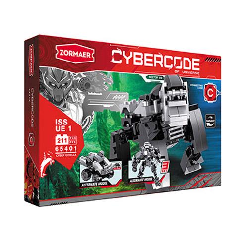 АКЦИЯ-20 Игр Конструктор Cybercode Cyber Gorilla 211 эл.