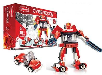 Конструктор Cybercode Exterminator 77эл.