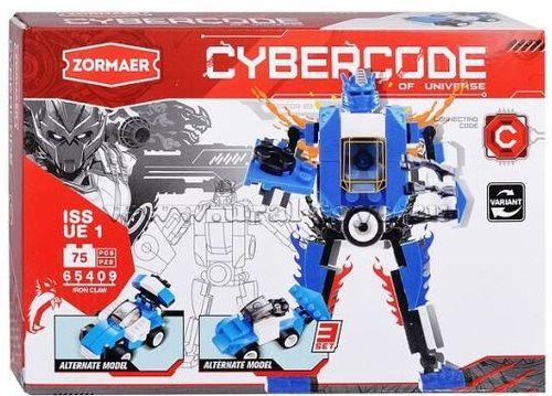 Конструктор Cybercode Iron Claw 75эл.