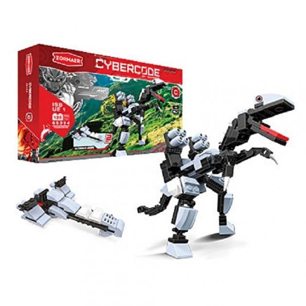 АКЦИЯ-20 Игр Конструктор Cybercode Tyranodrone 126эл.