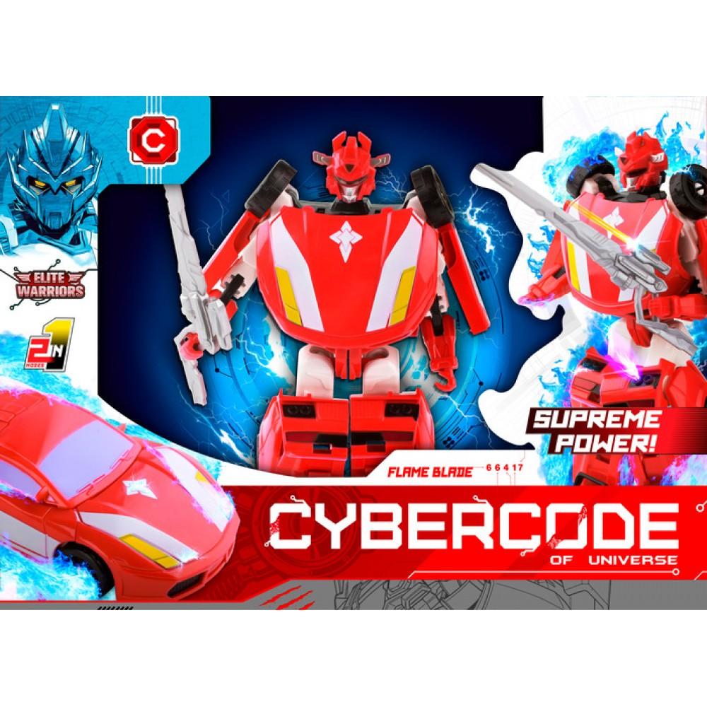 АКЦИЯ-20 Игр Робот Cybercode Flame Blade