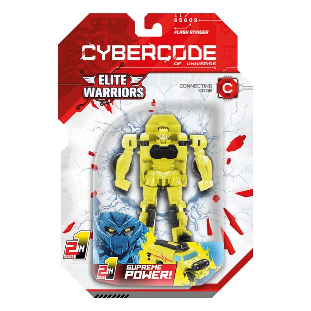Робот Cybercode Flash Stinger (асс.)