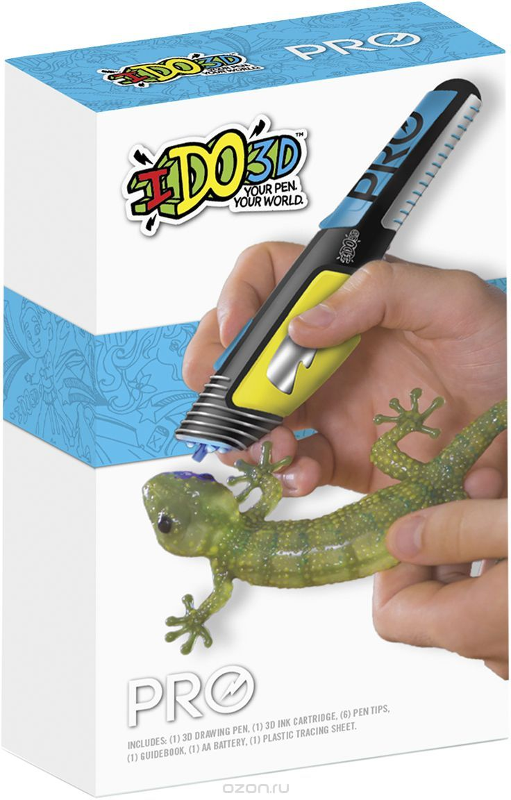 Набор 3Д Ручка Вертикаль PRO для профессионалов со смен. картриждем