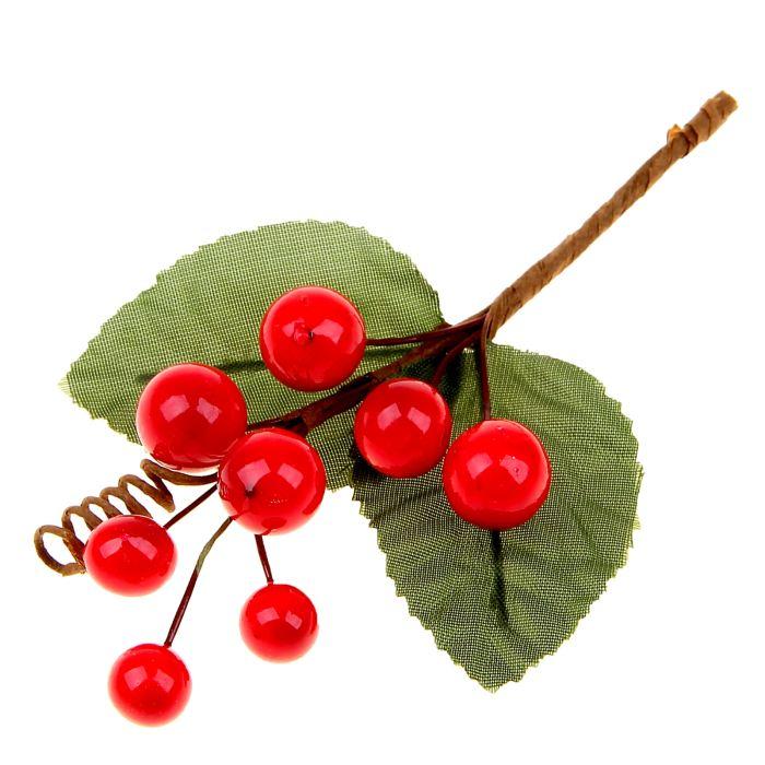 Цветы Букетик с ягодками 13,5 см