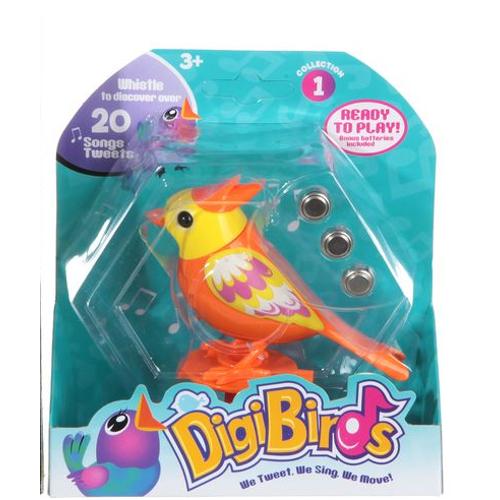 Птичка поющая Digi Birds CRD 11*5*4,5см