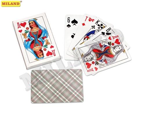 Игра Карты игральные 36шт Классика пластиковым покрытием