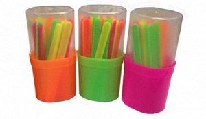 Счетные палочки 30шт цветные в пенале