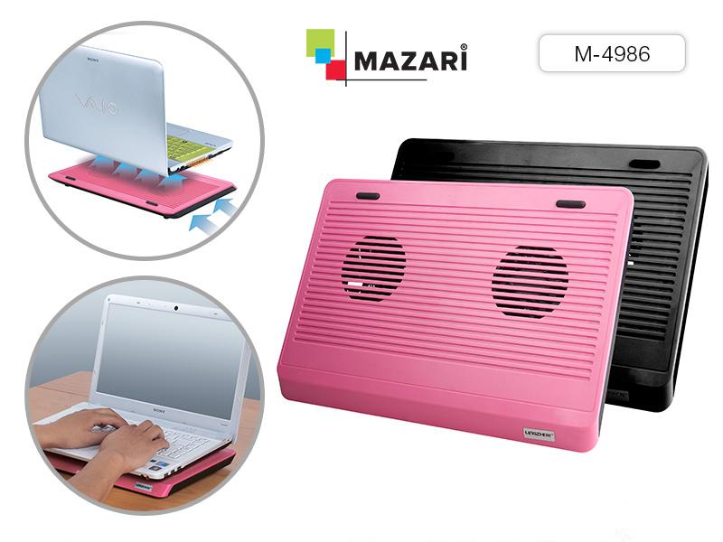 Подставка д/ноутбука охлаждающая Розовая