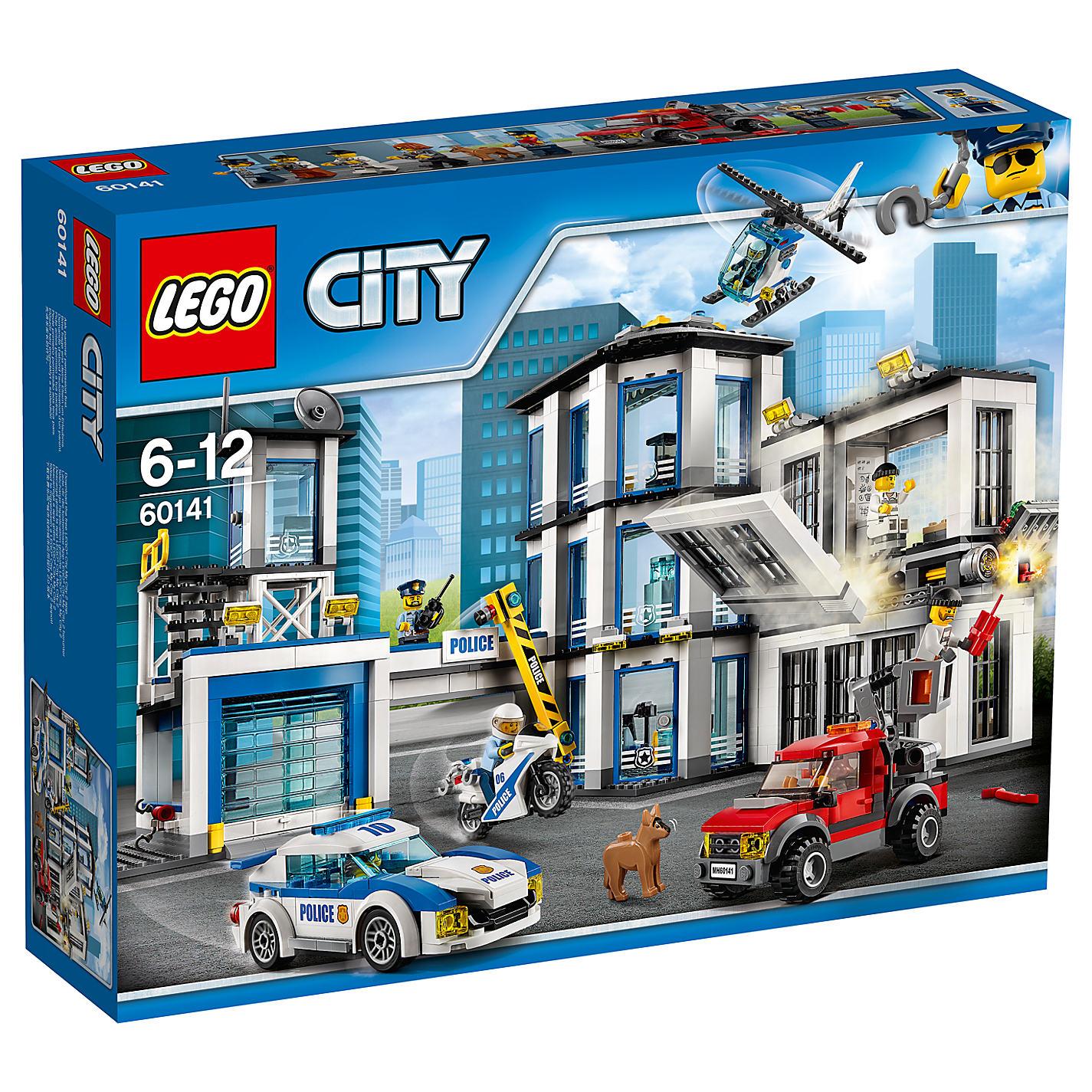 Конструктор Lego City Город Ограбление на бульдозере