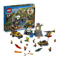 Конструктор Lego City Город База исследователей джунглей