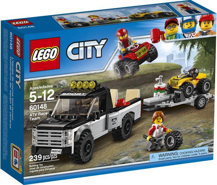 Конструктор Lego City Город Гоночная команда