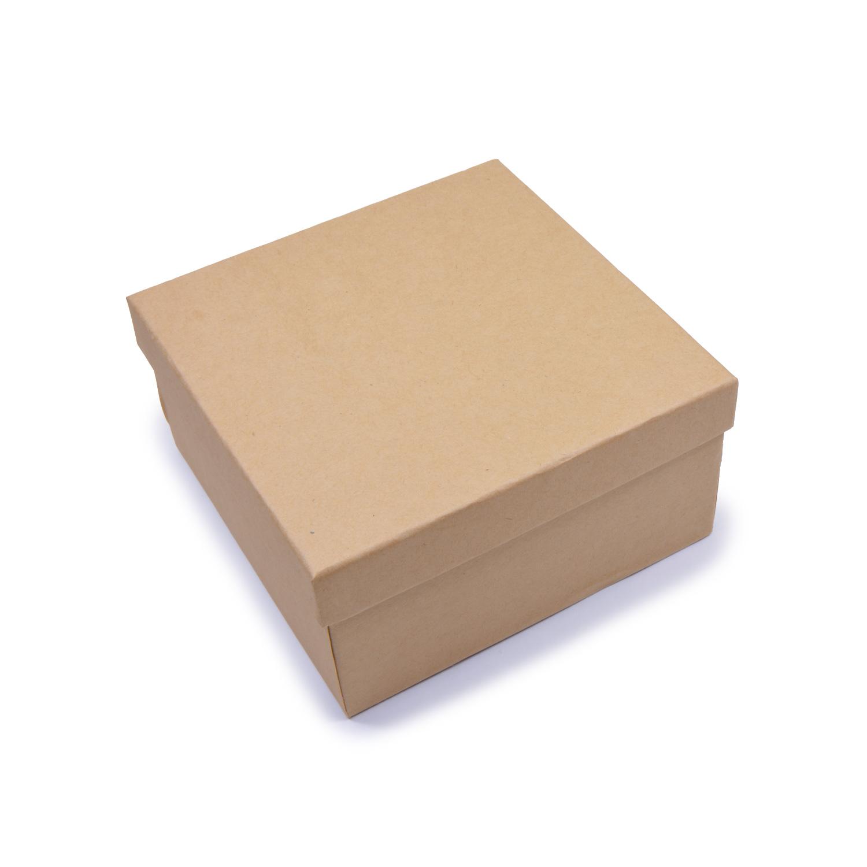 Заготовка из картона Шкатулка Квадрат 1шт 14x14x7см